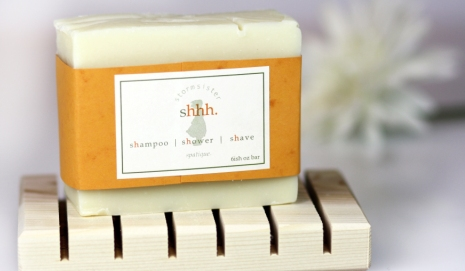 Purchase shhh. shampoo shower shave grooming bar here.